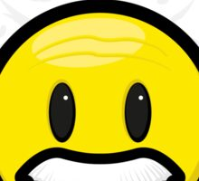 Einstein Smiley Sticker