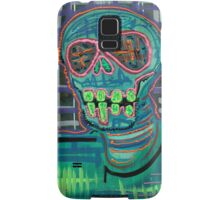 Psychedelic Skull Samsung Galaxy Case/Skin