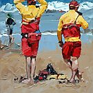 Two Lifeguards by Claire McCall