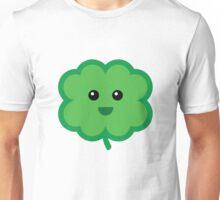 Cute Green Four Leaf Clover Unisex T-Shirt