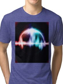 Retro space background Tri-blend T-Shirt