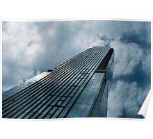 Blue Skyscraper Poster