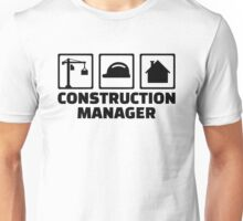 Construction manager Unisex T-Shirt