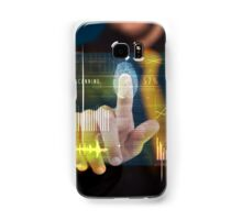 Fingerprint Samsung Galaxy Case/Skin