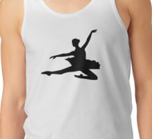 Ballet dancing girl Tank Top