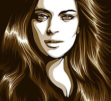 Lindsay Lohan by _ VectorInk