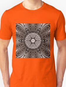 Black vs White Mandala Unisex T-Shirt