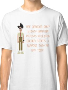 The IT Crowd – Are Dragons Gay? Classic T-Shirt