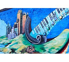 Musical Notes in Deep Ellum III Photographic Print