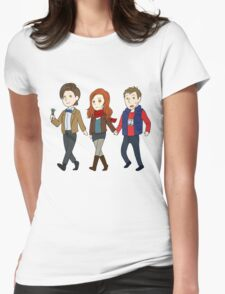 Come along Ponds! Womens Fitted T-Shirt