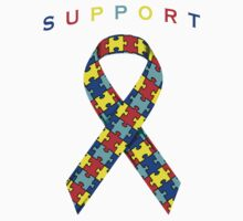 Autism Awareness Ribbon Kids Clothes
