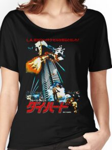 40 Storeys. Twelve Terrorists. One Cop. Women's Relaxed Fit T-Shirt