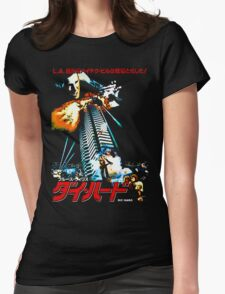 40 Storeys. Twelve Terrorists. One Cop. Womens Fitted T-Shirt