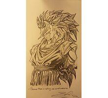 Goku Super Saiyan 3  Photographic Print