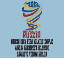 2018 World Cup Russia. by Buleste