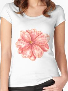 mmm_flower Women's Fitted Scoop T-Shirt