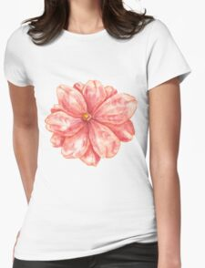 mmm_flower Womens Fitted T-Shirt
