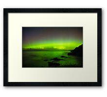Aurora the Sea Framed Print