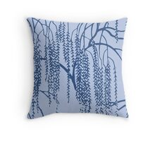 Willow D Throw Pillow