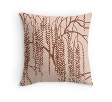 Willow E Throw Pillow