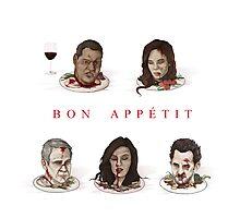 Bon Appétit Photographic Print