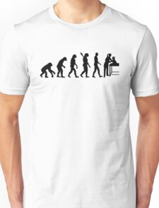 Evolution female veterinarian Unisex T-Shirt