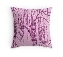 Willow J Throw Pillow