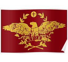 Karia - Roma Flag Poster