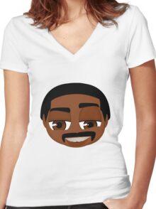 Richard Pryor Women's Fitted V-Neck T-Shirt