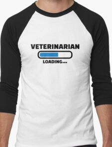 Veterinarian loading Men's Baseball ¾ T-Shirt