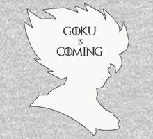 Goku Is Coming One Piece - Long Sleeve