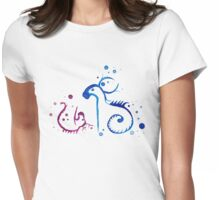 Elemental Spirits - Mother and Child Womens Fitted T-Shirt