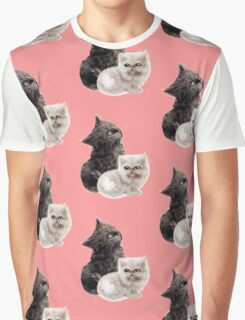 Cute Kittens Graphic T-Shirt
