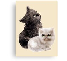 Cute Kittens Canvas Print