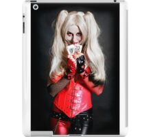 Harley Quinn Cards iPad Case/Skin