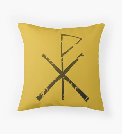 Karia - Rusik Flag Throw Pillow