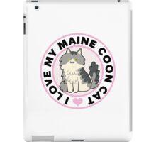 Maine Coon Cat T-Shirts iPad Case/Skin
