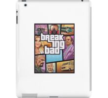 Breaking Bad GTA iPad Case/Skin