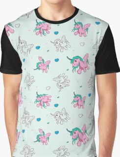 Cute Pattern with a Magic Pony Graphic T-Shirt
