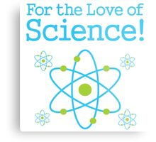 For the Love of Science Atom Metal Print