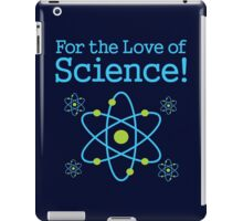 For the Love of Science Atom iPad Case/Skin