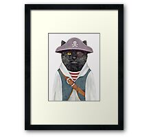 Pirate Cat Framed Print