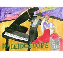 Kaleidoscope Music Album Cover Photographic Print