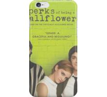 The Perks of Being a Wallflower Phone Case iPhone Case/Skin