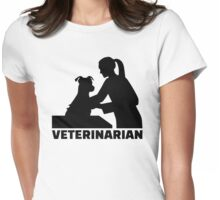 Veterinarian Womens Fitted T-Shirt