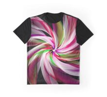 Romantic Flower Graphic T-Shirt