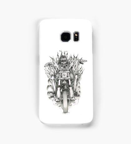 Forever a biker RH Samsung Galaxy Case/Skin