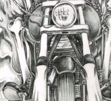 Forever a biker RH Sticker