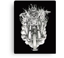 Forever a biker RH Canvas Print
