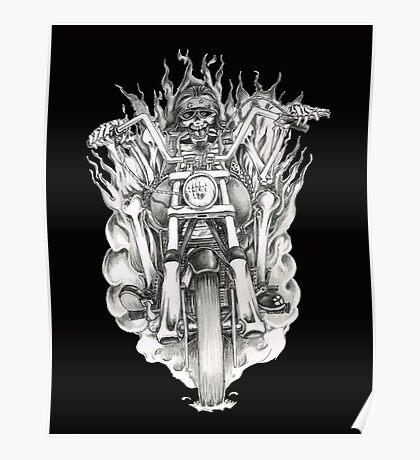 Forever a biker RH Poster